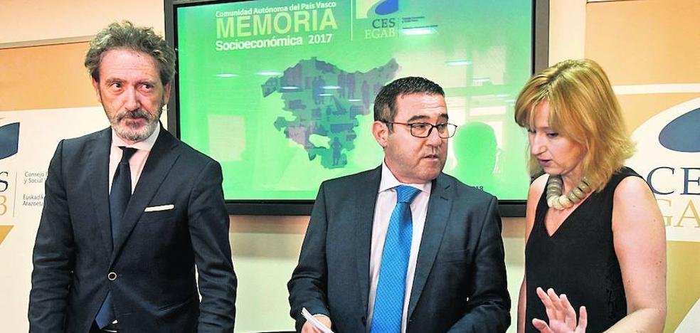 El CES vasco alerta de que la exclusión laboral amenaza a más de la mitad de los parados