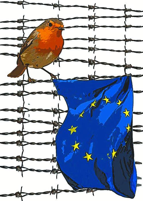 Europa con una esquina rota