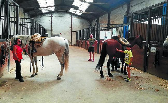 Verano a caballo en el picadero Ormazarreta