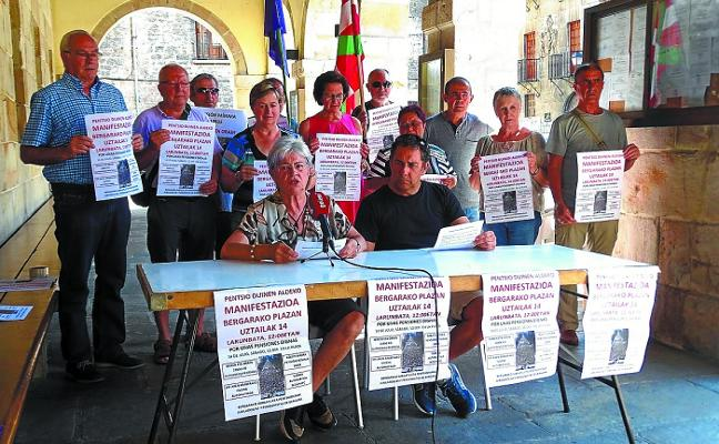El sábado, manifestación comarcal de jubilados y pensionistas