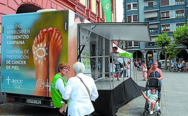 Llega la campaña para prevenir el cáncer de piel