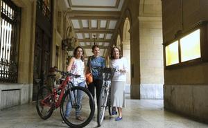 'Hoy me toca a mí', una iniciativa para promover el uso de las bicicletas entre las mujeres