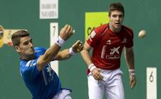 Irribarria y Zabaleta, primeros finalistas de San Fermín tras ganar 21-22