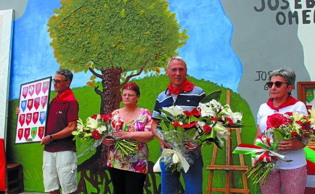 Emotivo homenaje a Joseba Barandiaran y Germán Rodríguez