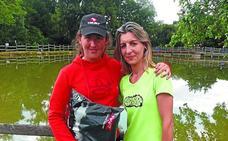 Debut y título para Leire Egaña en el campeonato vasco de recorridos de caza