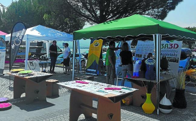 Lo último en tecnología náutica se prueba en la comarca del Bidasoa