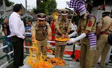 Celebración del día de los mártires en India