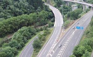 El enlace de la AP-1 en Maltzaga dirección Vitoria permanecerá cerrado las noches del domingo y el martes