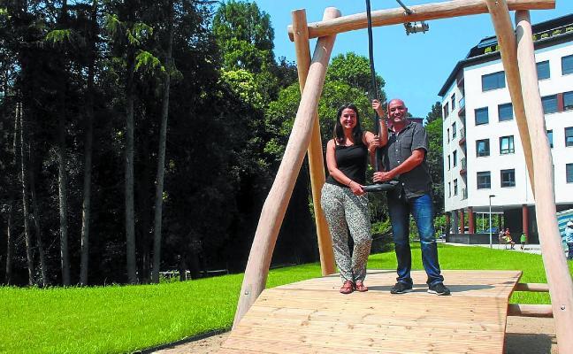 Errota, nuevo parque para los niños de entre 8 y 11 años del barrio de Karabel