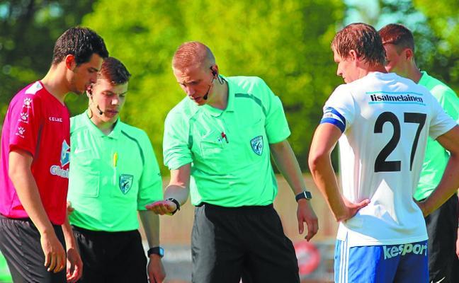 Mikel Gurrutxaga: «Nunca imaginé que algún día llegaría a marcar goles en Finlandia»