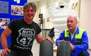 Gerard Mediavilla, diseñador de la 'Ruta 47', consiguió el reto Michelin