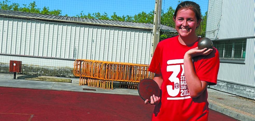 Maider Rekondo (LOKE) acude con Euskadi al Torneo de Federaciones