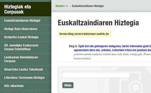 Beganoak, blogariak, gayak eta jihadistak, Euskaltzaindiaren Hiztegian