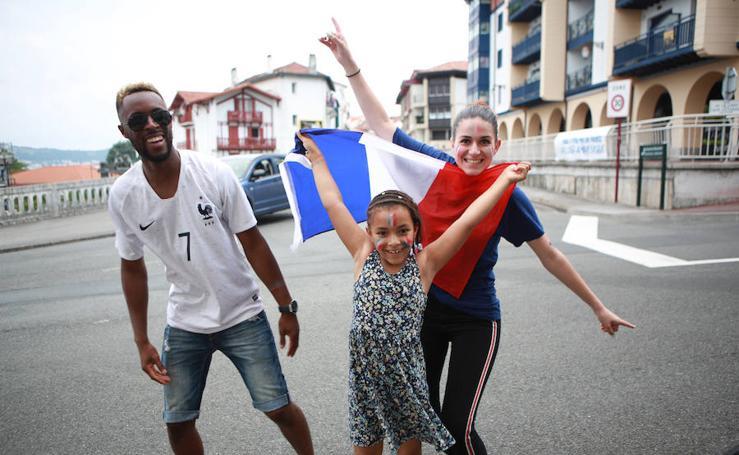 El Mundial también se celebra en Hendaia