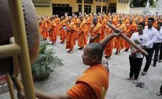 Ritos de monjes budistas