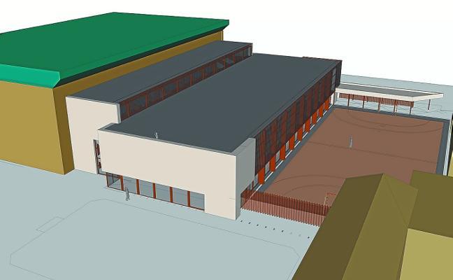 Las obras del nuevo pabellón, junto al Instituto Lizardi, arrancarán en otoño