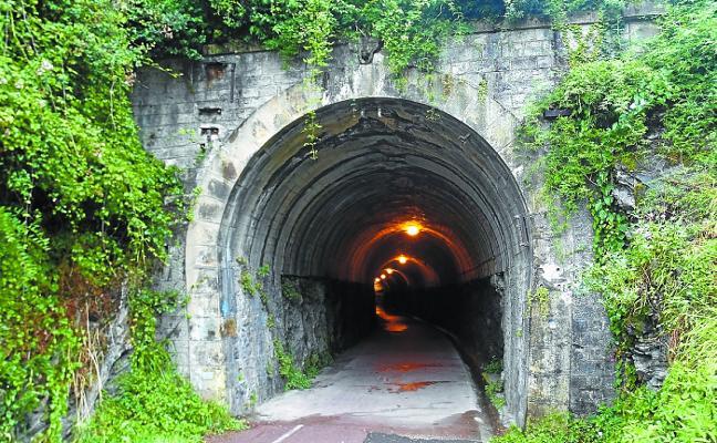 Mayor iluminación y recogida de aguas para el túnel de Gabiria