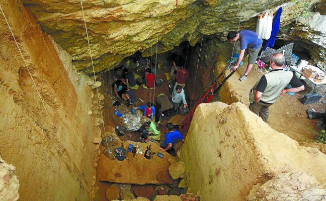 Lezetxiki, punto de partida del ser humano en Euskal Herria hace 200.000 años
