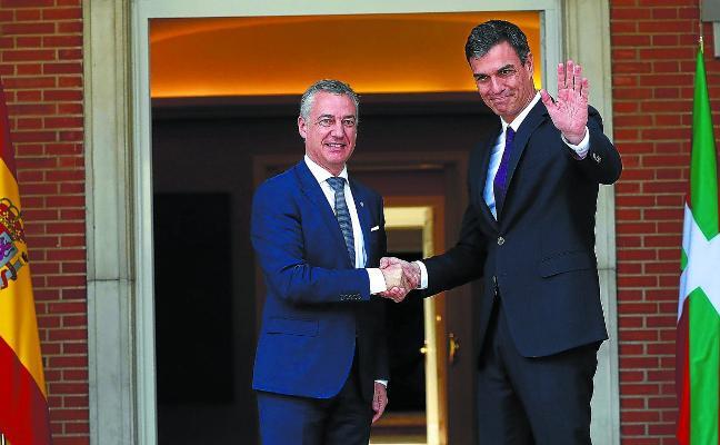 Urkullu y Sánchez romperán este mes el hielo de las transferencias con trenes y autopistas