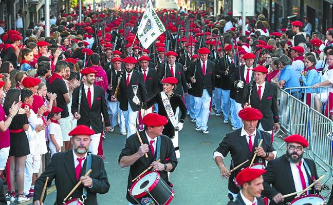 El Alarde tradicional valora que el 30 de junio «reinaron la alegría y la formalidad»