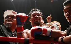 'Manny' Pacquiao regresa a lo campeón