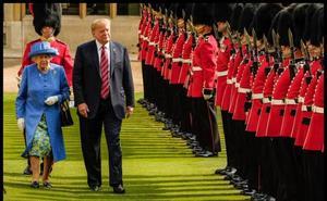Los príncipes Carlos y Guillermo no quisieron reunirse con Trump