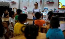 Educadores robots