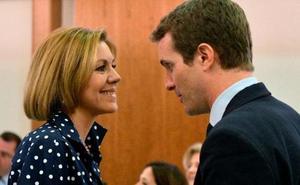 Cospedal rompe su silencio y apoya a Casado en público: es una «magnífica opción»