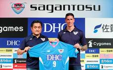 Torres, presentado en Tokio por el Sagan Tosu