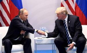 Trump, antes de su encuentro con Putin: «La relación con Rusia nunca estuvo peor»