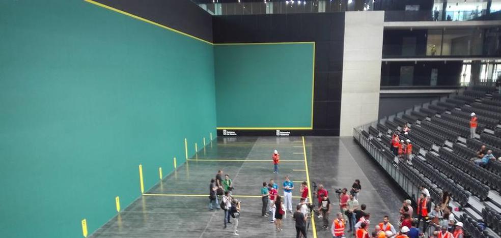 Los manistas destacan el sonido de la pelota y la viveza del Navarra Arena