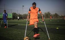 Primer equipo de fútbol masculino de amputados de la Franja de Gaza