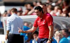 Unai Emery, firme en el Arsenal