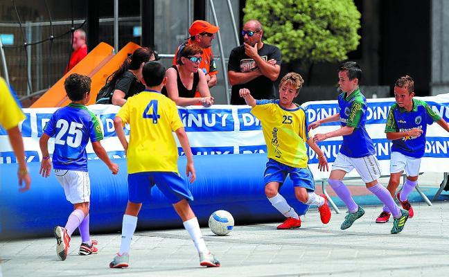 150 niños, en la II Madalenak Cup