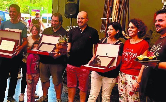 Edurne Burutzaran, Arkaitz Egaña eta Aitor Bilbao omenduak izan ziren