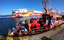España supera a Italia en número de llegadas de migrantes por mar