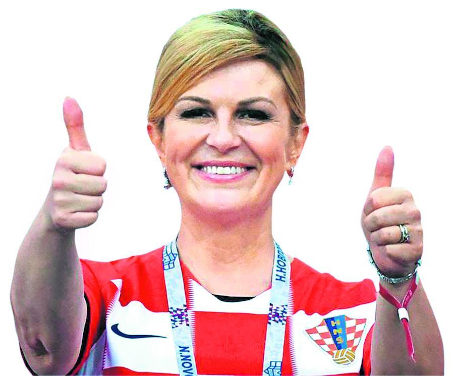 La presidenta del Mundial