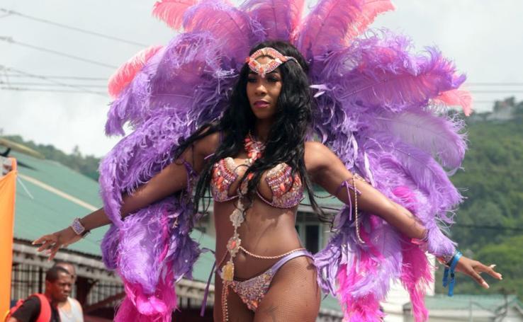 Comparsas del Carnaval de Santa Lucía, en imágenes