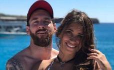 Leo Messi y su familia, de vacaciones en Ibiza