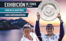 Lara Arruabarrena y Conchita Martinez darán un exhibición en San Sebastian