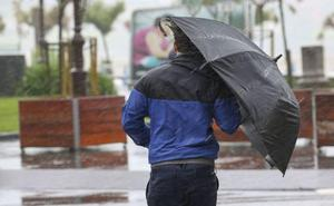 Aviso amarillo por lluvias intensas para la tarde en Gipuzkoa