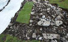 Descubierta una edificación de la época de los romanos en Igaratza