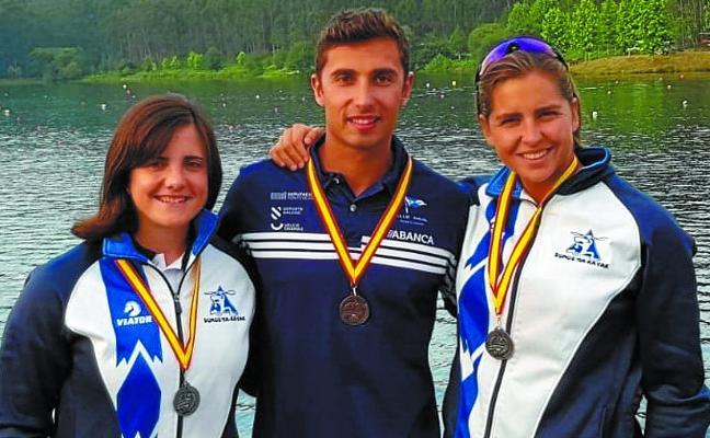 Plata para Lazkano y Benavente en el Campeonato de Sprint Olímpico