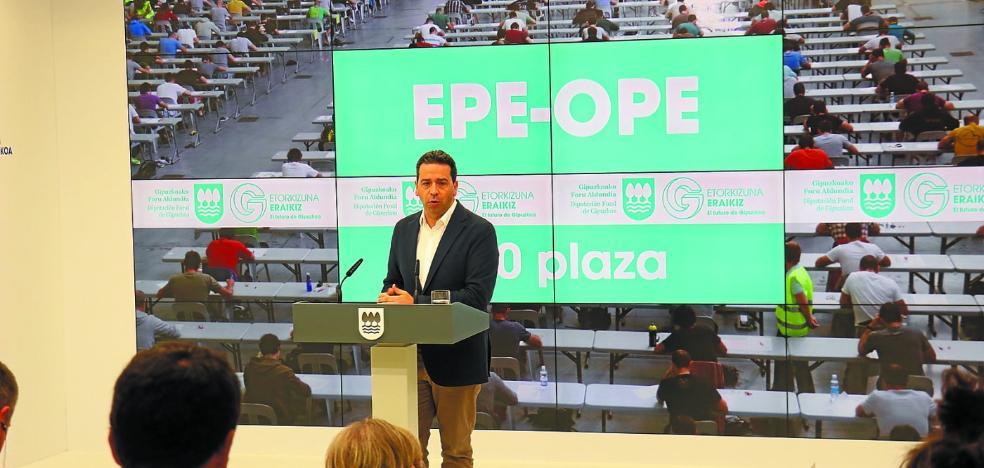 La Diputación renovará casi el 20% de su plantilla en los próximos tres años