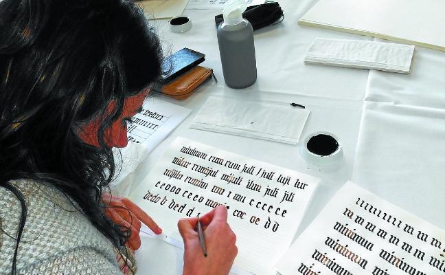 El arte de la caligrafía está de moda