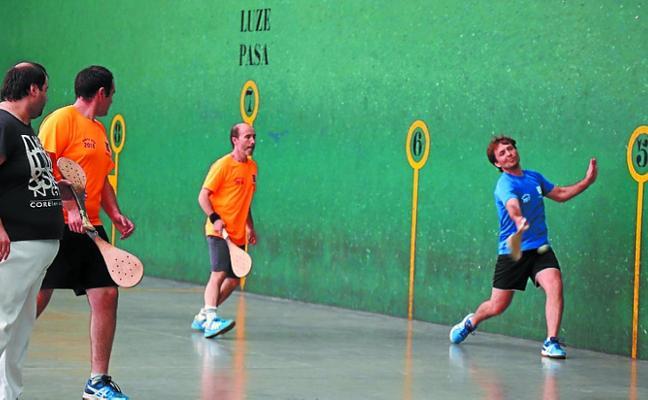 Semifinales del torneo de Pala de Santa Ana en Loidi Barren