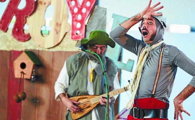 Fin de semana de teatro en Sebero Altube y Kulturola con Ganso & Cia y Pez Limbo