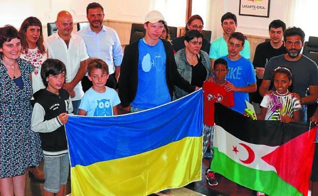 'Vacaciones en Paz' para niños acogidos