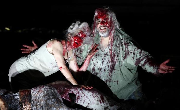 La obra 'Siegfrieds Erben' en el Festival Nibelungen, en Alemania