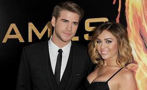 Miley Cyrus y Liam Hemsworth, tan felices